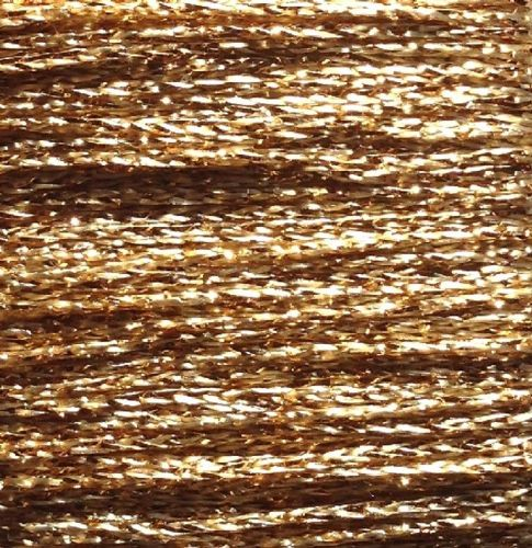 Gold Rush Metallic Glitter Thread 10m Light Gold